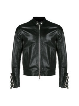 Dsquared2 jacket with belted cuffs - Black