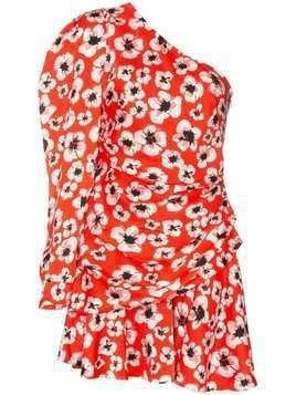 Borgo De Nor Christina floral print mini dress - Red