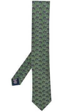 Holland & Holland Hugo Guinness pheasant tie - Green