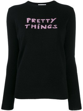 Bella Freud Pretty Things cashmere jumper - Black