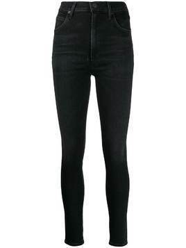 Citizens Of Humanity Thrill high-rise cropped jeans - Black