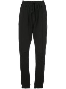 Haider Ackermann jersey tapered trousers - Black