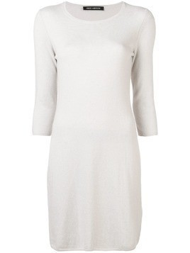 Iris Von Arnim knitted dress - Grey