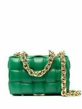 Bottega Veneta The Chain Cassette shoulder bag - Green