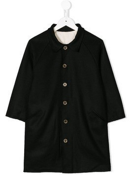 Little Creative Factory Kids cropped sleeve coat - Black