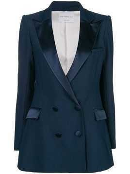 Hebe Studio double-breasted fitted blazer - Blue