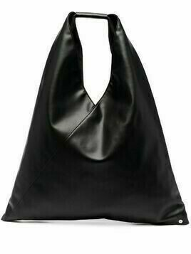 MM6 Maison Margiela slouchy top handle tote bag - Black