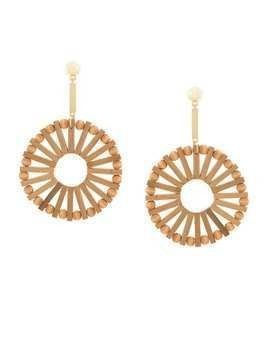 Cult Gaia Natural Eva earrings - Brown