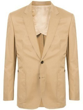 Gieves & Hawkes fitted formal blazer - Brown