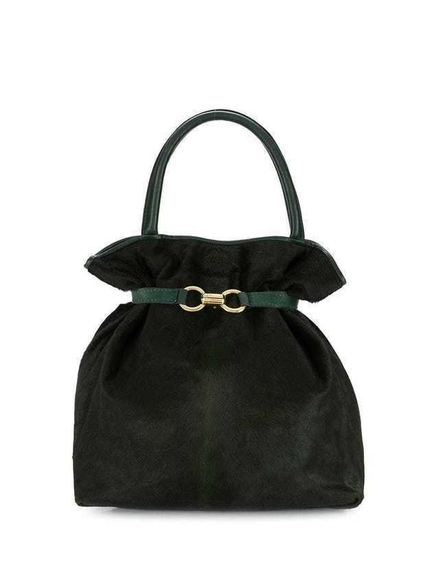 A.N.G.E.L.O. Vintage Cult '1980s top handle tote - Green