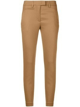 Dondup slim fit tailored trousers - Nude & Neutrals