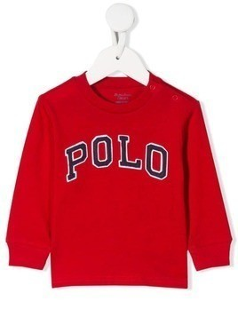 Ralph Lauren Kids logo embroidered sweatshirt
