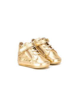Giuseppe Junior hi-top sneakers - Metallic