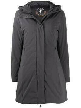 Save The Duck hooded padded coat - Grey