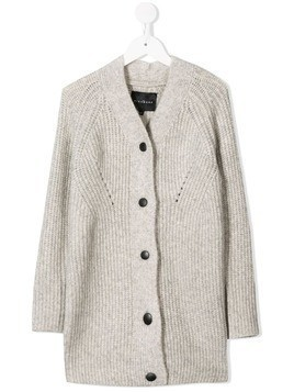 John Richmond Junior V-neck cardigan - Grey