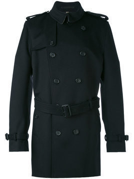 Burberry - wool cashmere trench coat - Herren - Acetate/Viscose/Cashmere/Wool - 50 - Black