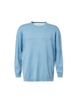 Digawel two-tone jumper - Blue