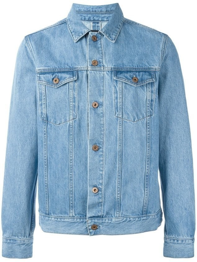 Natural Selection 'Livingstone' denim jacket - Blue