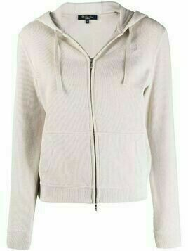 Loro Piana Horsey embroidered hoodie - Neutrals