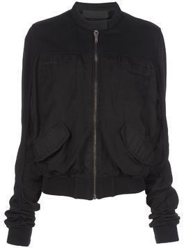 Haider Ackermann loose fit bomber jacket - Black