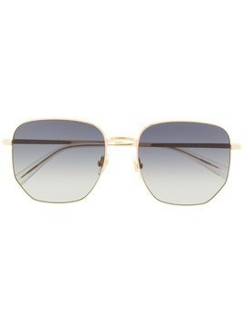 Bolon oversized geometric frame sunglasses - Gold