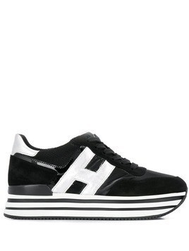 Hogan H483 platform sneakers - Black