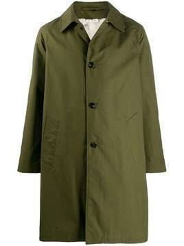 Marni single-breasted coat - Green