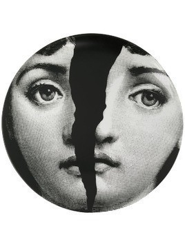 Fornasetti spliced face plate - Black