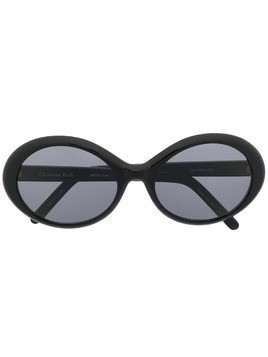 Christian Roth Series oval sunglasses - Black