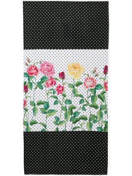 Love Made Love mix-print towel - Multicolour