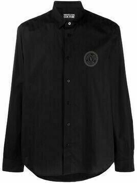 Versace Jeans Couture monogram print shirt - Black