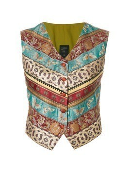 Jean Paul Gaultier Vintage multi-patterned vest - Multicolour