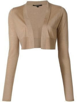 Derek Lam Long Sleeve Cardigan - Nude & Neutrals