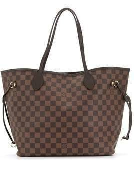 Louis Vuitton 2018 pre-owned Neverfull MM tote bag - Brown