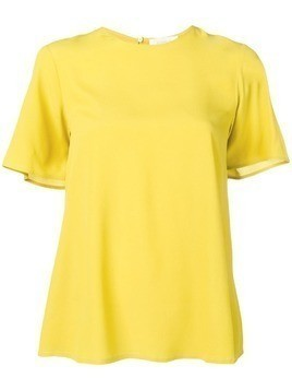 Glanshirt cut out detail T-shirt - Yellow
