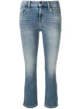 Current/Elliott classic cropped jeans - Blue