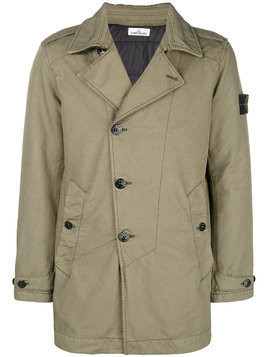 Stone Island lightweight trench coat - Green