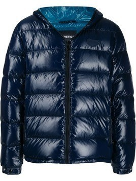 Duvetica hooded down jacket - Blue