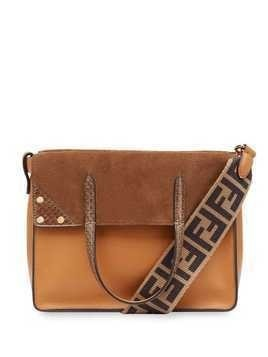 Fendi medium Flip tote - Brown