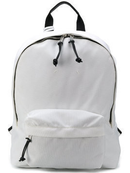 Maison Margiela classic zipped backpack - White