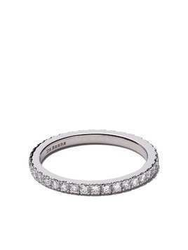 De Beers Platinum DB Classic full pavé diamond band