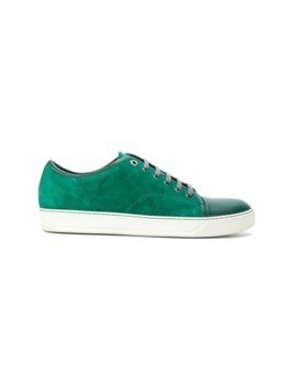 Lanvin casual toe-capped sneakers - Green