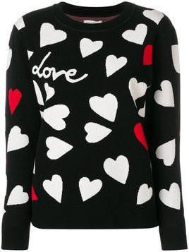 Chinti & Parker Confetti Heart jumper - Multicolour