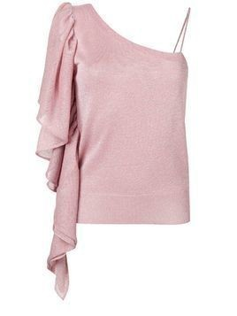 Circus Hotel slim-fit one-shoulder top - Pink