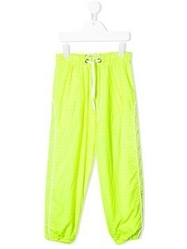 Duo striped sweatpants - Yellow