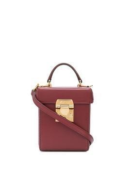 Mark Cross Grace cube mini bag - Red