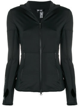 Adidas By Stella Mccartney zipped performance jacket - Black