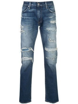 Levi's: Made & Crafted 511 slim fit jeans - Blue