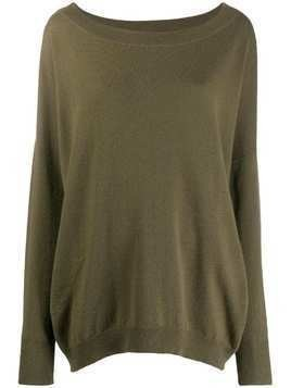 Alyki oversized jumper - Green