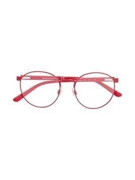 Polo Ralph Lauren round-frame logo glasses - Red